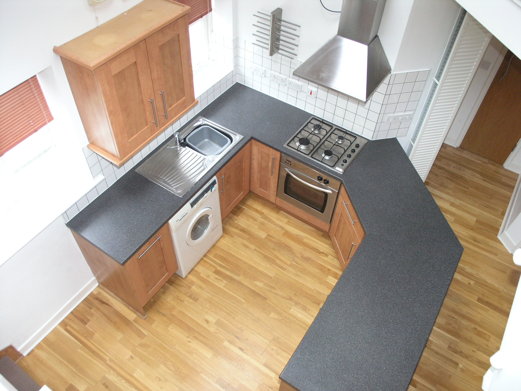 kitchen in property in loughborough